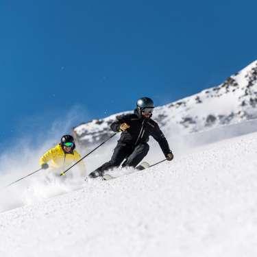 Fun&Snow Ski Lesson - Line Demonstrations