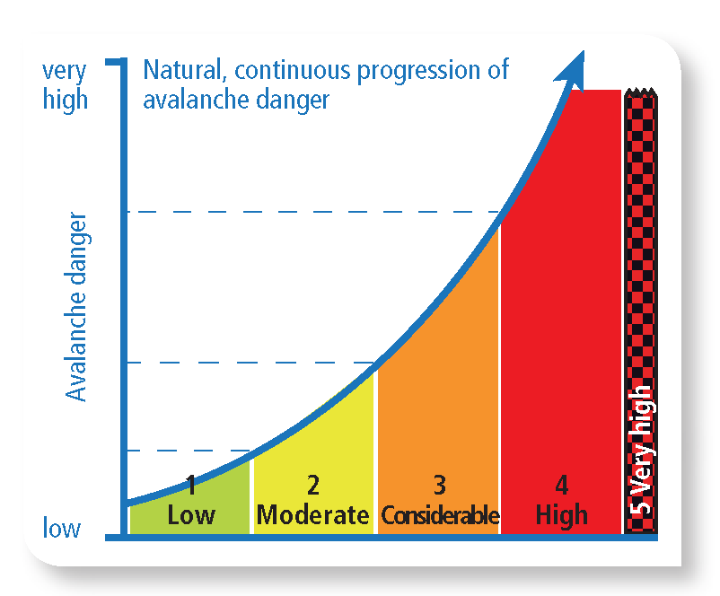 Avalanche Danger Graph